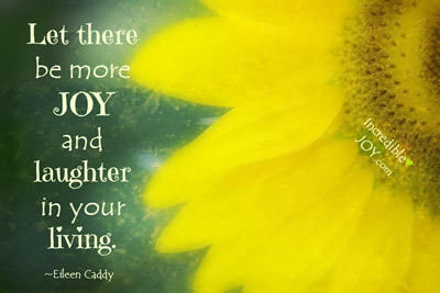 Joy In Living ...